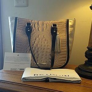 Brahmin NWT medium Lena Blossom Kendall bag